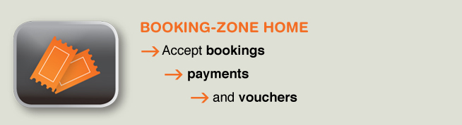 Online cloud based booking systems member management and online payment software systems - Booking Zone Home